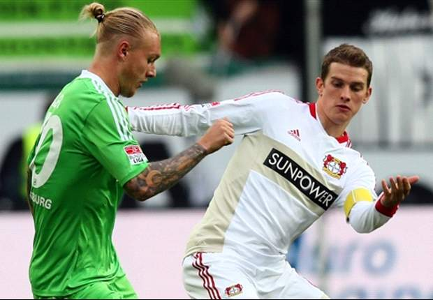 Diego Ribas Bantu Wolfsburg Hajar Bayer Leverkusen
