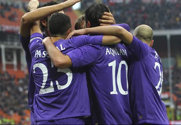La Fiorentina sigue intratable y esta vez venció al Milan