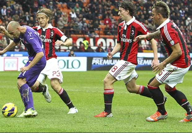 Laporan Pertandingan: Milan 1-3 Fiorentina