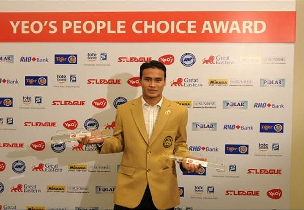 Aleksandar Duric named S.League Player of the Year for 2012