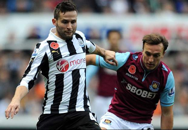 Cabaye to undergo surgery, reveals Newcastle boss Pardew