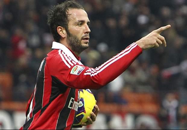 AC Milan 2-1 Bologna: Pazzini double settles San Siro clash