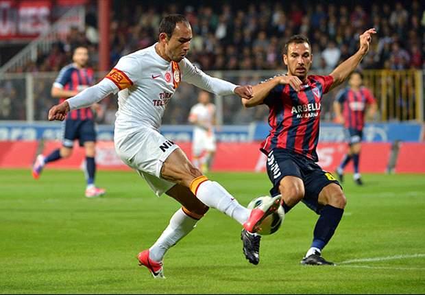 Galatasaray spielt nur remis
