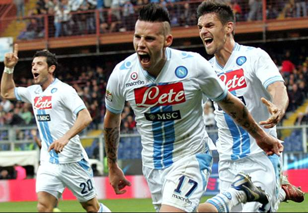 Serie A Round 12 Results: Napoli complete injury-time comeback in Genoa, while Palermo claim crucial win