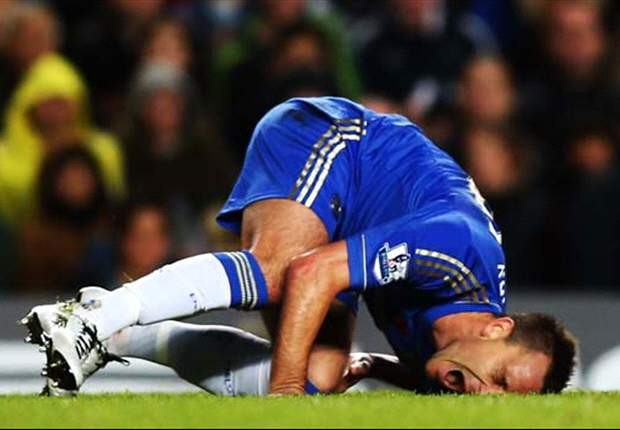 Chelsea reveal Terry out for 'weeks' rather than 'months' after MRI scan