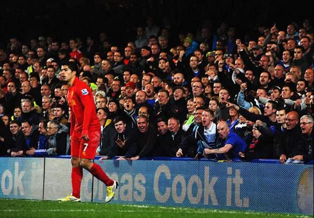 Luis Suárez rescata un punto para el Liverpool en su visita a Stamford Bridge