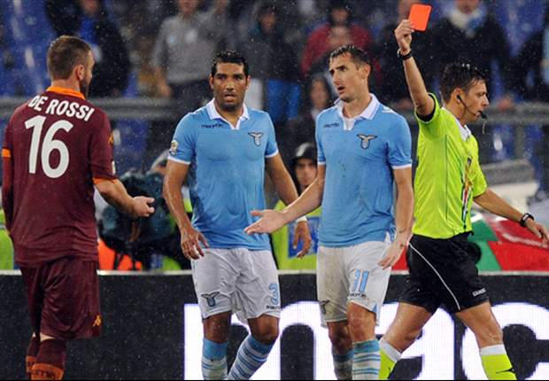 De Rossi handed three-match suspension for slap