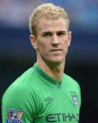 Joe Hart, England Internacional