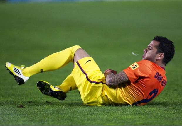 Dani Alves: Jugar con Messi es una tranquilidad