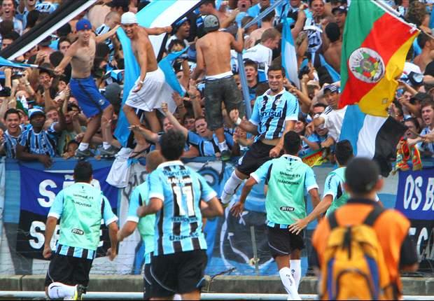 Grêmio 2 x 1 São Paulo: de virada, Tricolor gaúcho 'rouba' a vice-liderança do Brasileiro