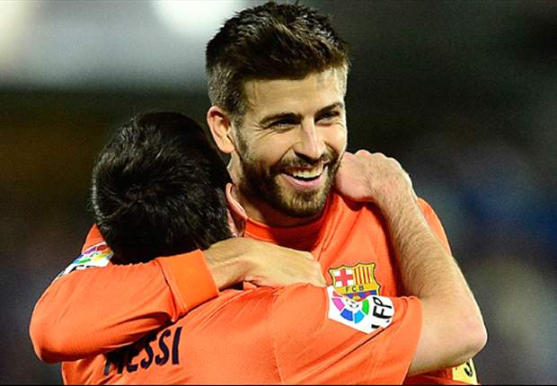 Pique: I admire Messi's determination