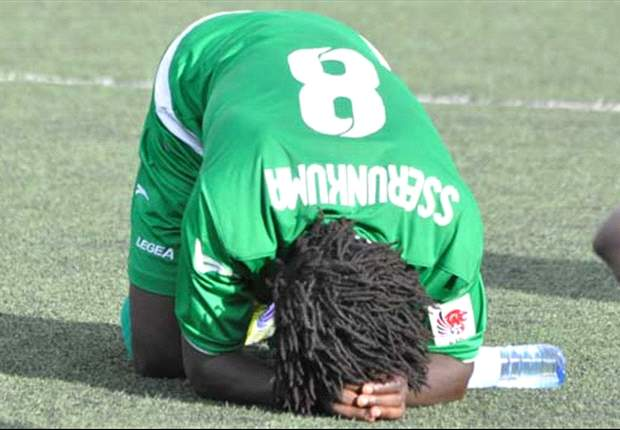 Sserunkuma dropped from Uganda Cranes squad