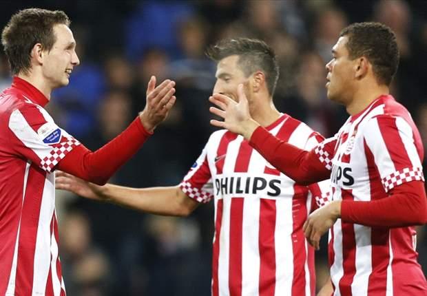 Dubbele cijfers voor PSV in eerste duel