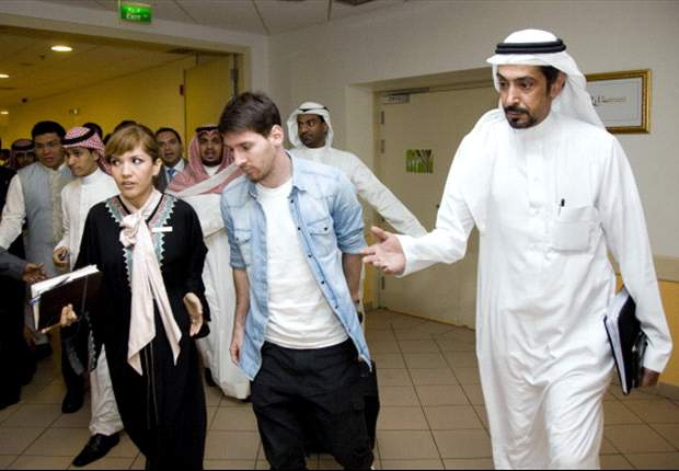 Leo Messi conquista Arabia
