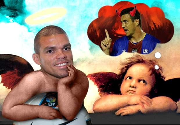 Pepe, un 'angelito' en comparación con Sergio Ballesteros