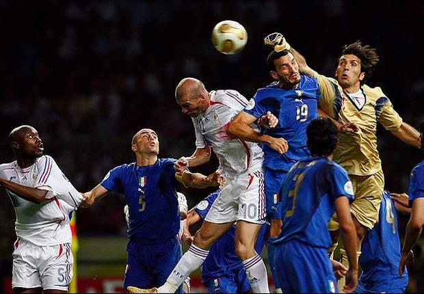 Frankrijk op bezoek bij angstgegner Italië