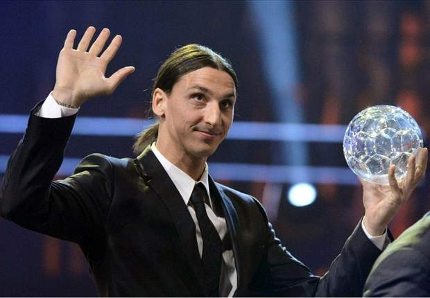 Ibrahimovic wins Swedish Player of the Year award