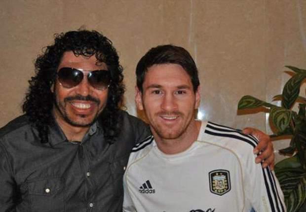 René Higuita y Leo Messi se encuentran en Arabia Saudí