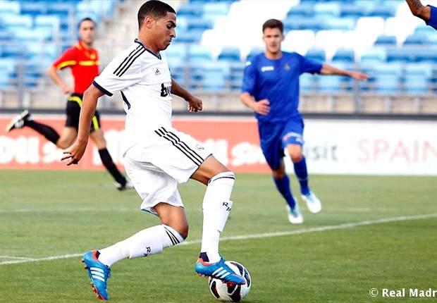 Omar Mascarell, el canterano del Real Madrid, internacional español, que fue convocado por Guinea Ecuatorial