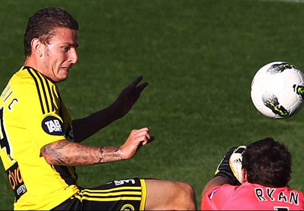 Official: Wellington Phoenix release striker Mirjan Pavlovic