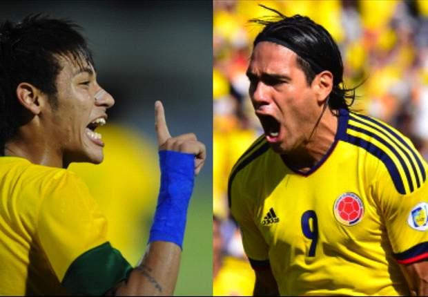 EN VIVO: Colombia vs. Brasil
