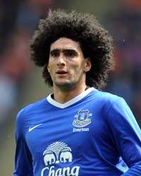 Marouane Fellaini, Belgien International