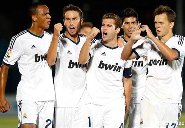 Real Madrid Castilla ha perdido 8 puntos en el último cuarto de hora