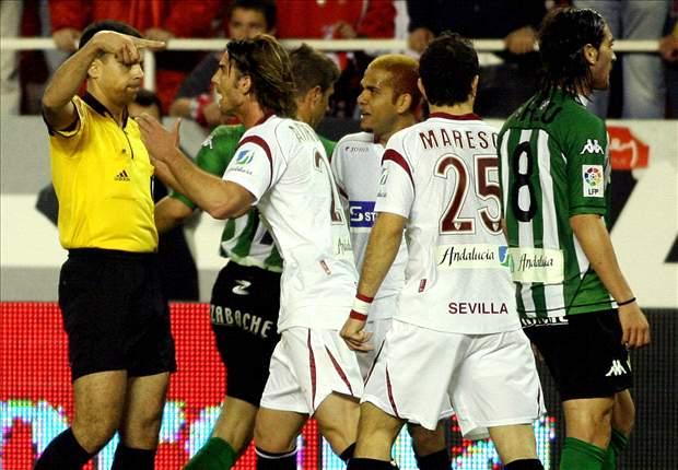 Los momentos más calientes del derbi Sevilla - Betis