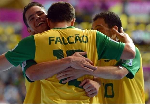 Mundial de Futsal: Argentina cayó ante Brasil