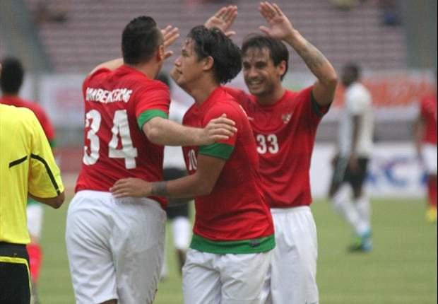 SLIDESHOW: Indonesia Hanya Menang 1-0