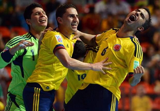 Piala Dunia Futsal: Brasil, Italia Bangkit, Kolombia Kuda Hitam