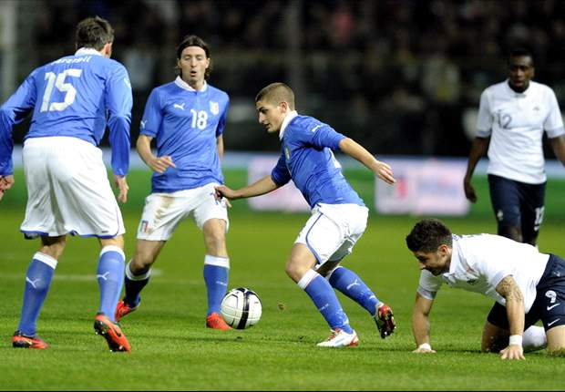 Verratti proves he is Pirlo's natural replacement on positive night for Italy