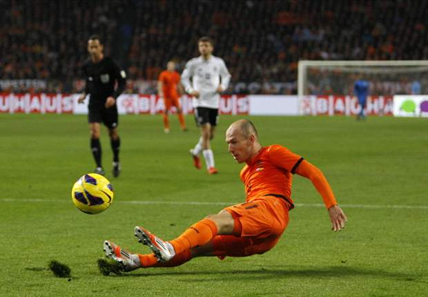 Robben: I could decide to play fewer games for Oranje