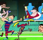 La fiesta de Barcelona en el Bernabéu