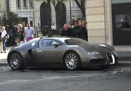 Football stars and their cars