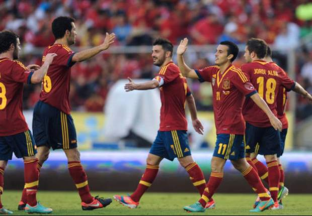 Spain continue to lead Fifa ranking