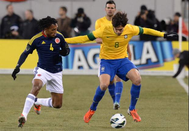 Brazil 1-1 Colombia: Neymar saves Menezes' blushes in New Jersey