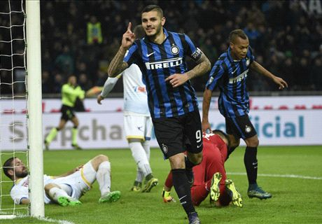 FT: Internazionale 4-0 Frosinone