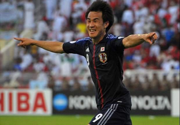 '오카자키 2골' 일본, 라트비아 3-0 대파