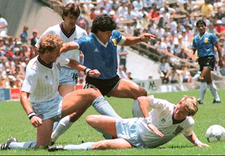 When Maradona went to war with England