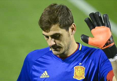 Del Bosque: No guarantees for Casillas