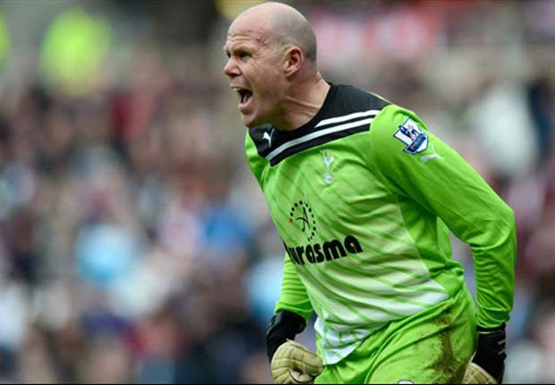 Friedel plans to stay at Tottenham as long as he can