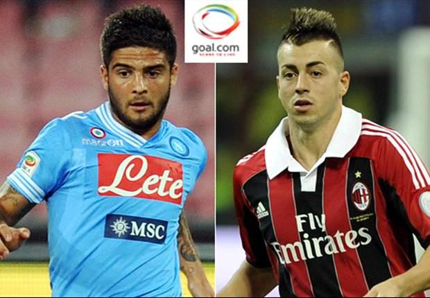 La sfida nella sfida - Insigne vs El Shaarawy: il Faraone rossonero prevale di misura sul talento del Napoli