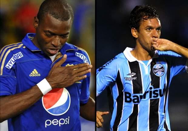 Millonarios-Gremio: Sigue en vivo toda la Copa Sudamericana
