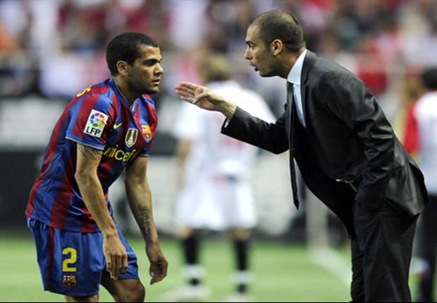 """Dani Alves: """"Ich habe das Gefühl, Guardiola hat den Klub wegen uns verlassen"""""""