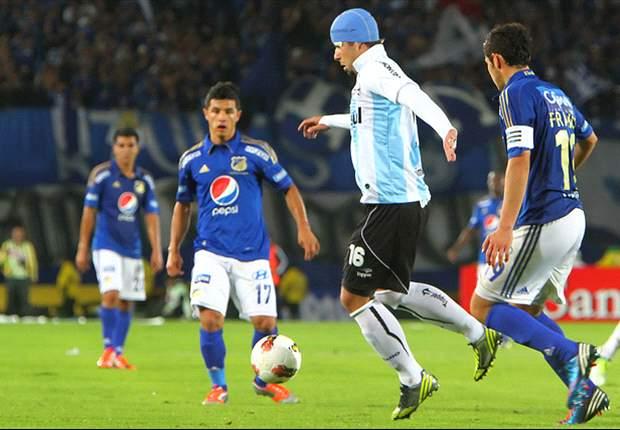 Após confusão em Bogotá, árbitro cita três jogadores do Grêmio