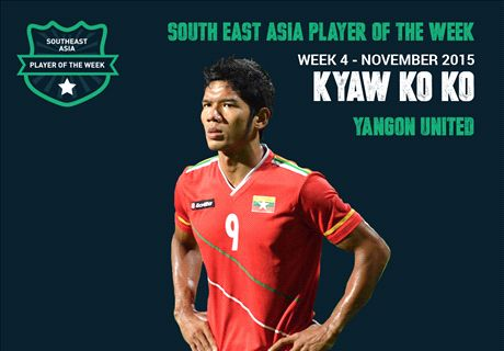 Goal SEA POTW: Kyaw Ko Ko