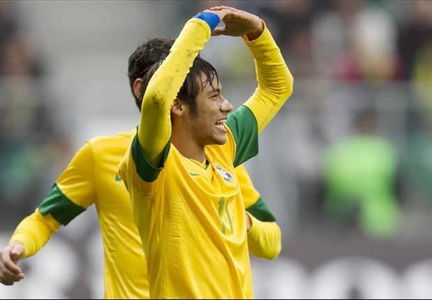 Felipe Scolari: Neymar Bintang Paling Terang Di Brasil