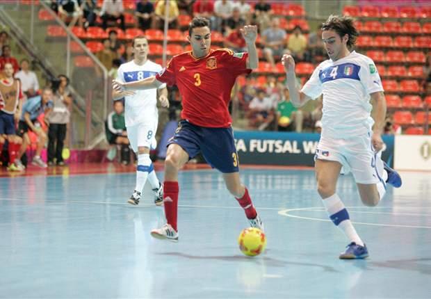 España-Brasil, final del Mundial de Futsal en Tailandia