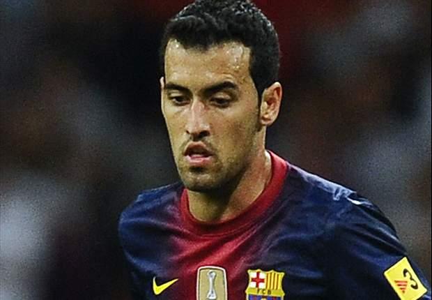 Sergio Busquets: El Atlético de Madrid es el máximo rival